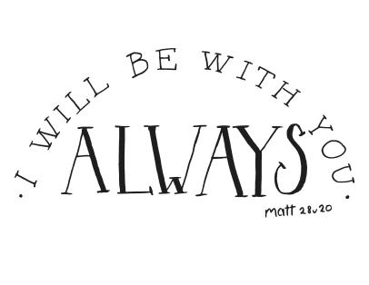 I will be with you always-page-001